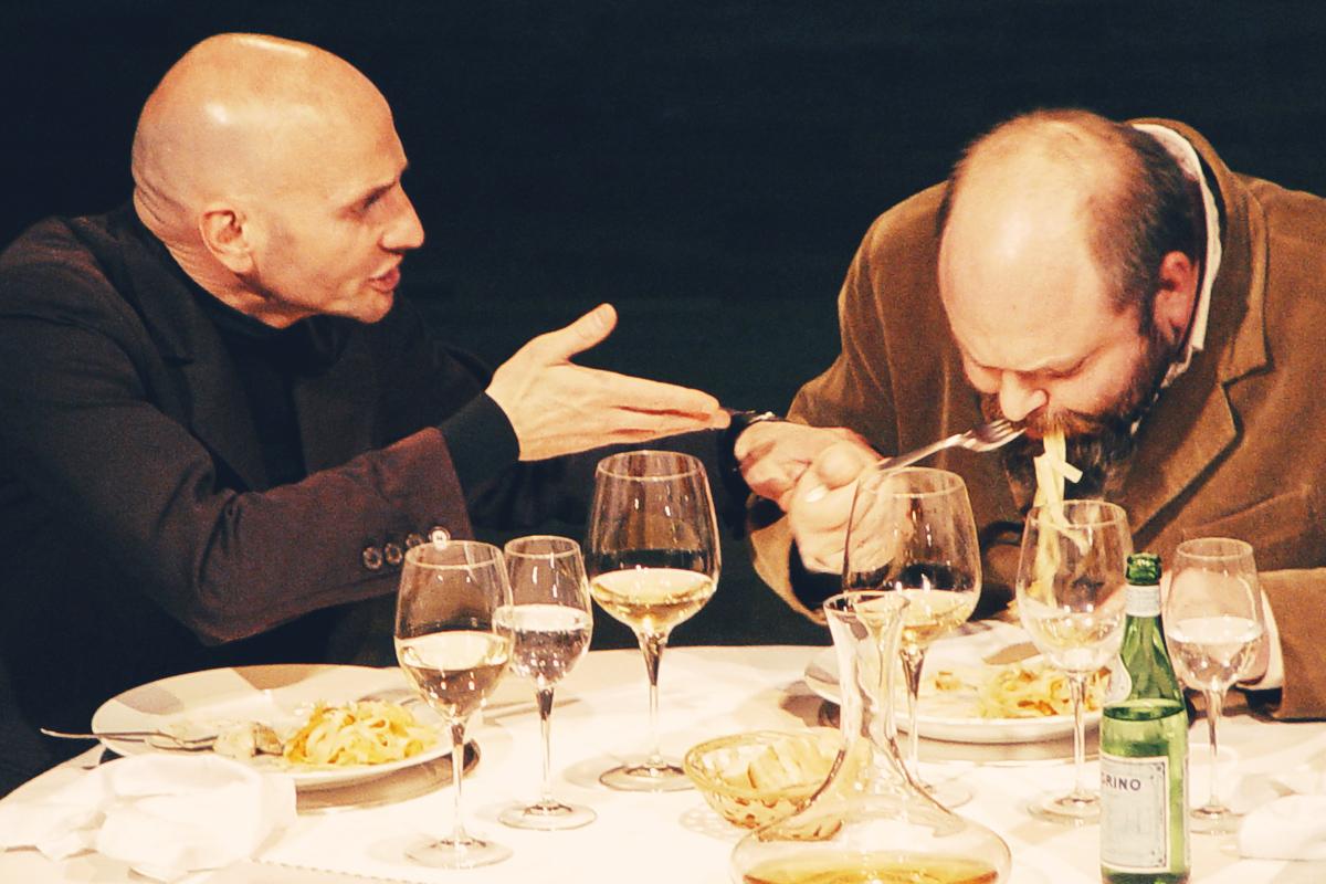 Dialogue rencontre entre deux amis